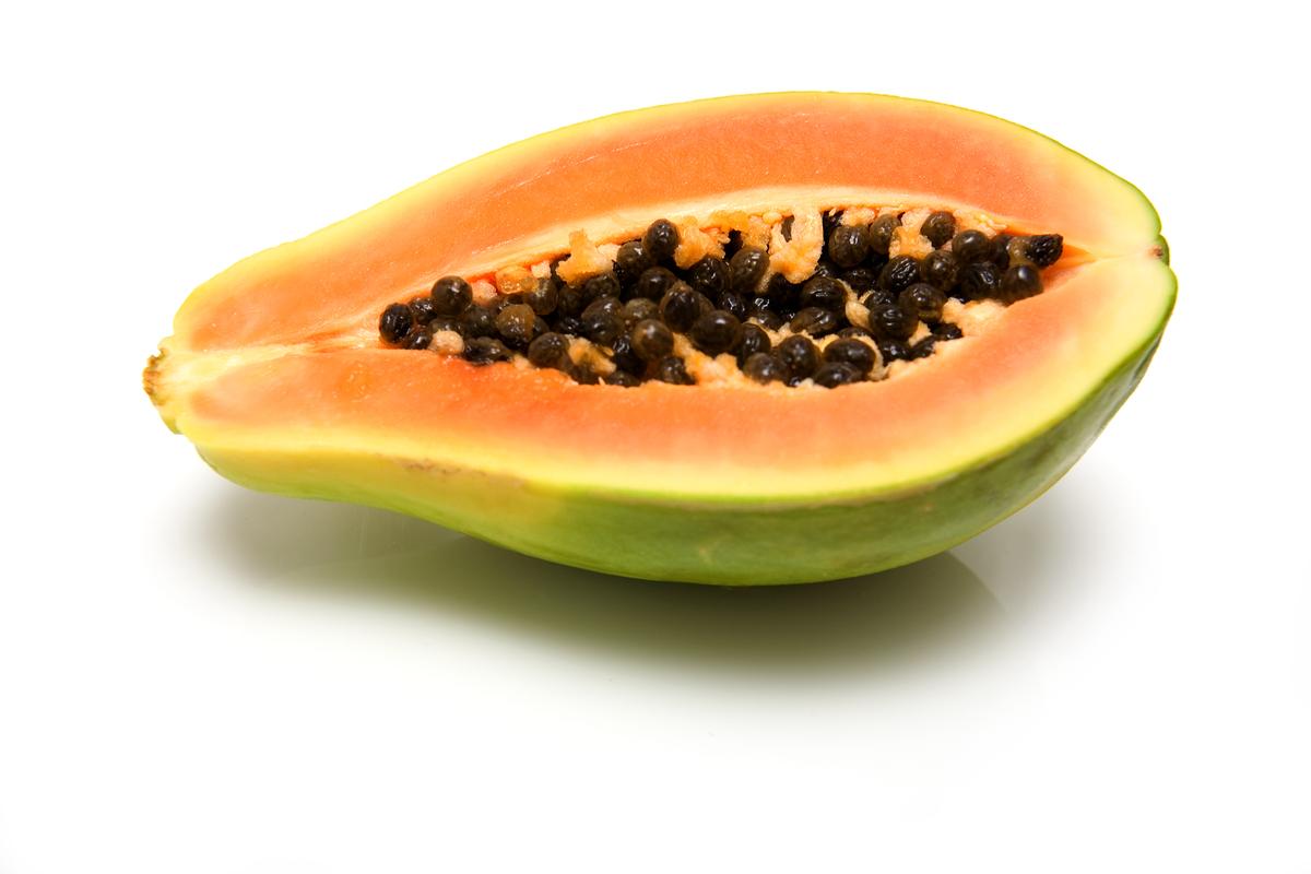 frutas papaya: